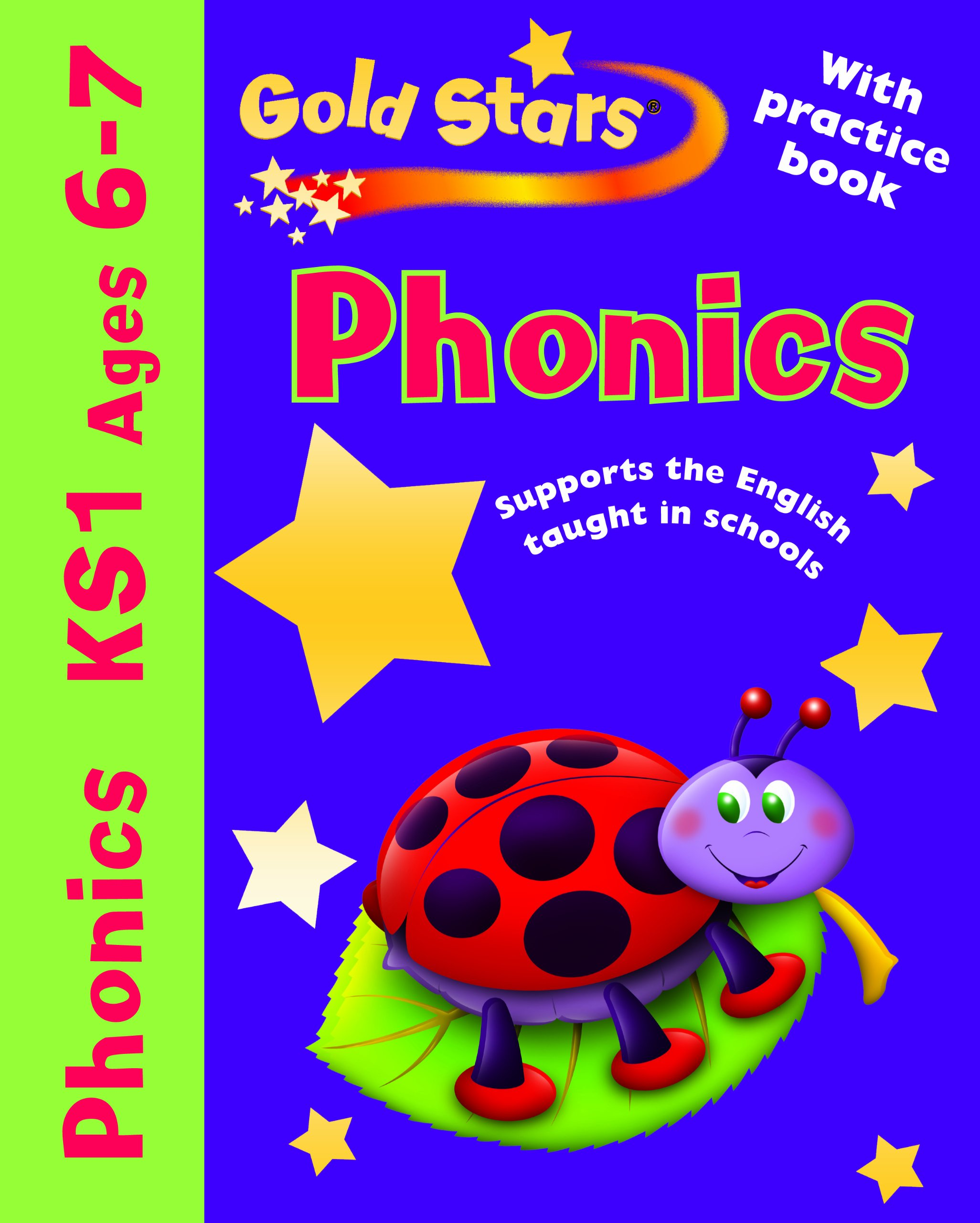Gold Stars Pack (Workbook and Practice Book): Phonics 6-7 pdf