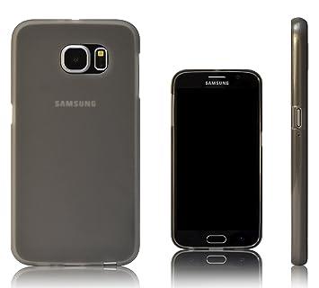 Xcessor Vapour Funda Carcasa de TPU Gel Flexible para Samsung Galaxy S6 SM-G920. Gris/Semitransparente