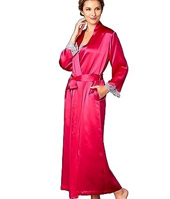 f076da30e9e71 Julianna Rae Women s 100% Silk Robe