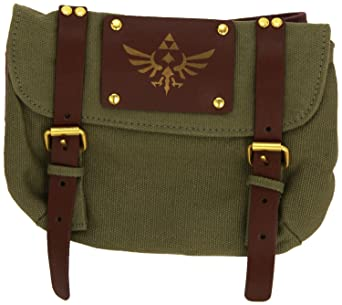 0e8626da911 The Nintendo: Legend Of Zelda - Brown Zelda With Satchel, Skyward Sword  (Borsello