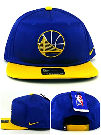 f07a3fcb089 ... low price nike golden state warriors new satin blue gold yellow team  era snapback hat cap