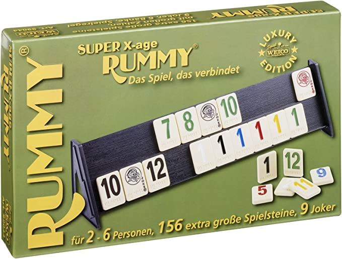 Weico 99044 - Super Mini Rummy [importado de Alemania]: Amazon.es: Juguetes y juegos