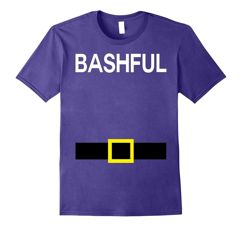 Bashful Dwarfs Names Halloween Group Costume TShirt Matching-TJ