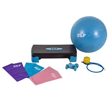 The Step Home Gym Workout System for Core, Strength, Stability, and Resistance Training