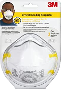 3M Drywall Sanding Respirator, 70070827475, Drywall Sanding, 1 Pack