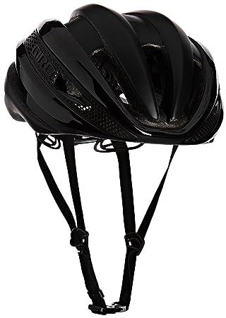 Giro Synthe - Cascos Bicicleta Carretera - Negro Contorno de la Cabeza 59-63 cm
