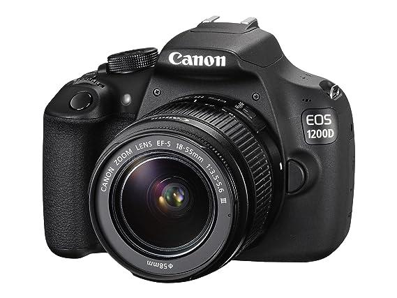 Canon EOS 1200D - Cámara Digital de Alta definición (30 fps ...