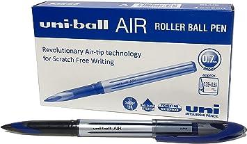 /uba-188-l /0,7/mm bol/ígrafo de punta rodante/ /Pack de 3/ /azul/ Uni-ball aire/