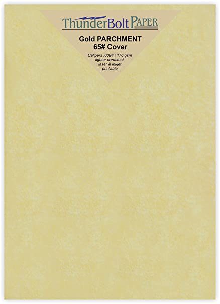 200 White Parchment 65lb Cover Weight Paper 4X6 Inches Printable Cardstock Colored Sheets Old Parchment Semblance 4 X 6 Photo|Card|Frame Size