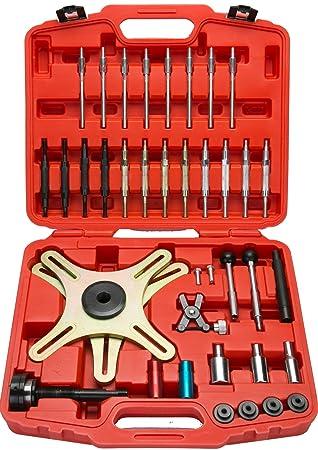 FreeTec Kit de herramientas de embrague autoajustable 38 Componentes Herramienta de embrague universal SAC: Amazon.es: Coche y moto