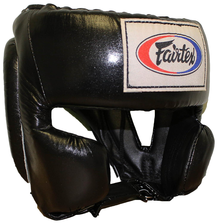 Fairtex Mexican Style Headgear B00ESZ3WT4 ブラック Small