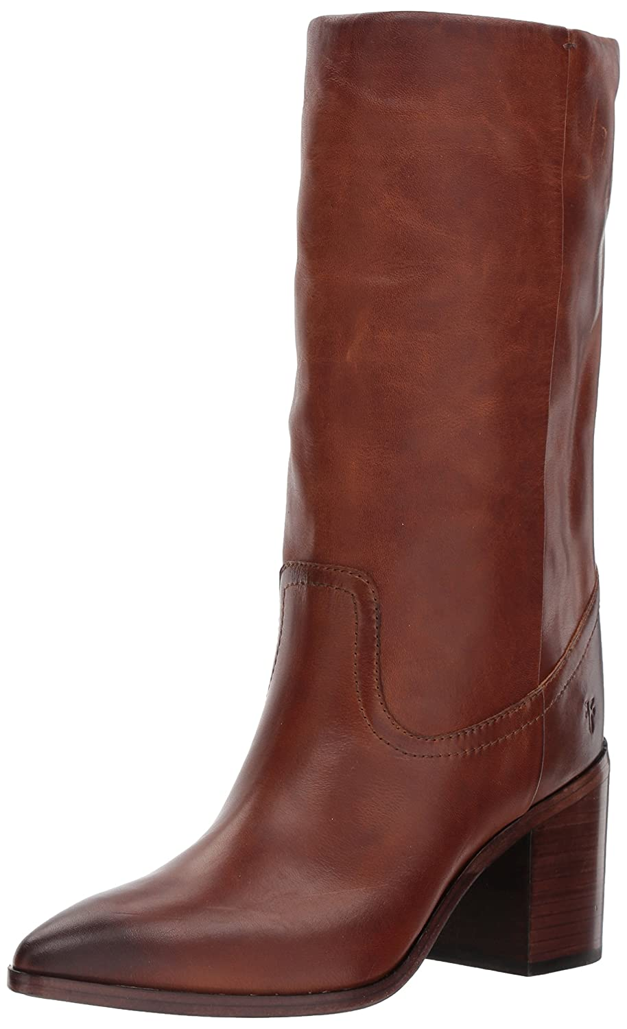 FRYE Women's Flynn Mid Pull on Boot B01N81A8F4 6.5 B(M) US|Cognac