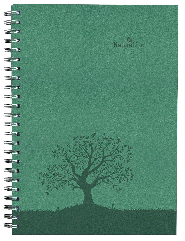 "Agenda settimanale spiralata Nature Line 2019 ""Foresta"" 15x21 cm Alpha Edition 19.4548 Kalender / Zeitplansysteme Schreibwaren (bedruckt)"