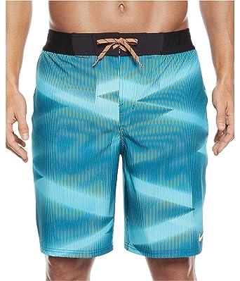 0f8dc333e09d9 Nike Mens Vapor Board/Swim Shorts NESS7459DS (36 Waist, Chlorine Blue-Gamma