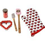 ROSANNA PANSINO by Wilton Cookie Decorating Kit, 5-Piece - Cookie Decorating Supplies