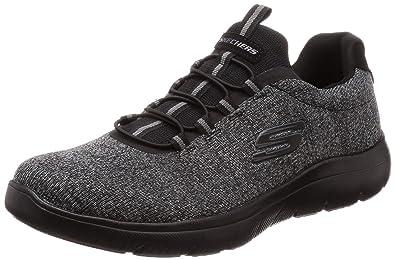 Skechers Summits FORTON Men´s Trainers Sneaker Fitness Memory Foam Black b2ed764ac83