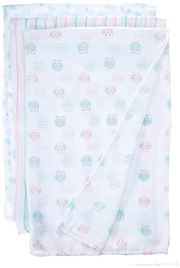 anais swaddle 3-pack ideal baby by the makers of aden set sail