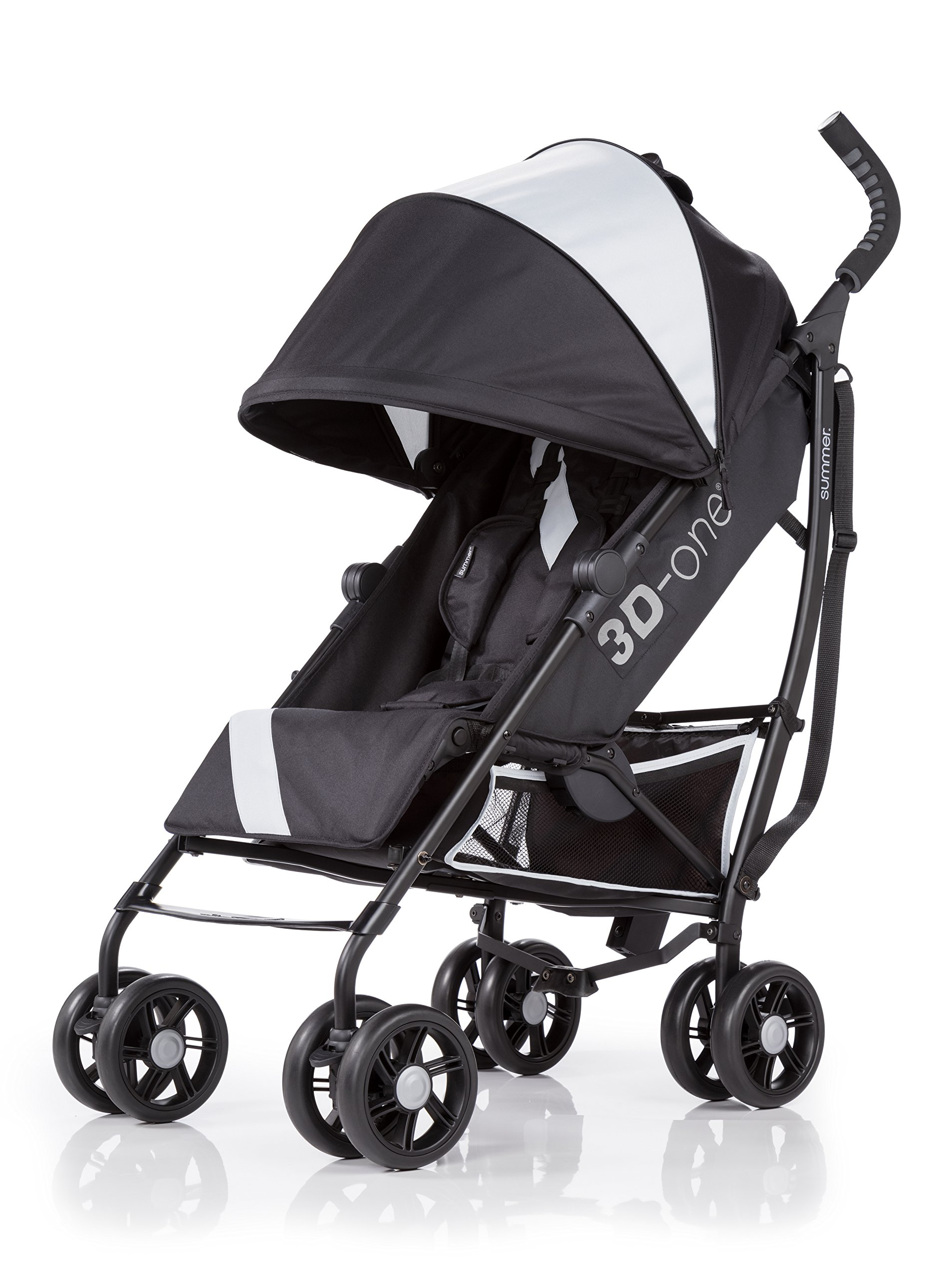 Summer Infant 3D-one Convenience Stroller, Eclipse Gray by Summer Infant (Image #1)