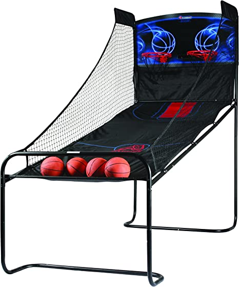 New Fun Atomic Deluxe Double Shootout Electronic Basketball Arcade Game M01462AW