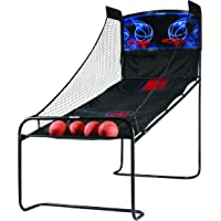 Atomic Jumpball Deluxe Double Electronic Basketball Shootout Includes Four Mini Basketballs and Inflating Air Pump