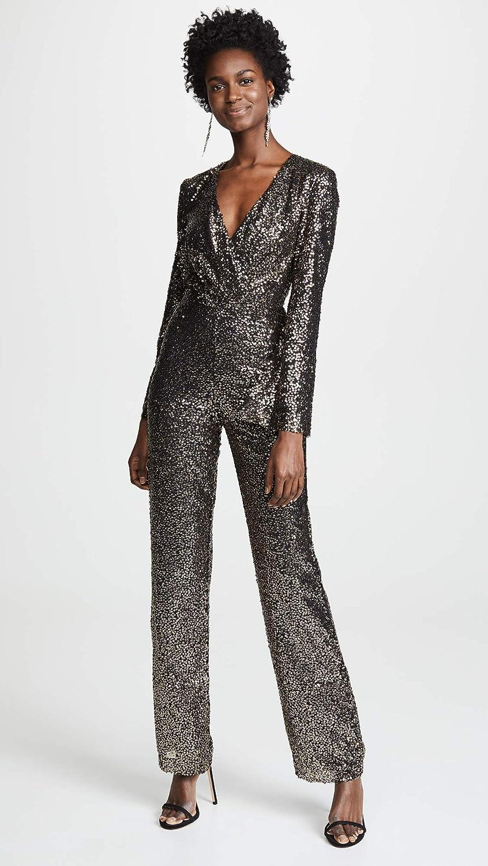 321682abfc Amazon.com  Misha Collection Women s Sharnie Sequined Jumpsuit