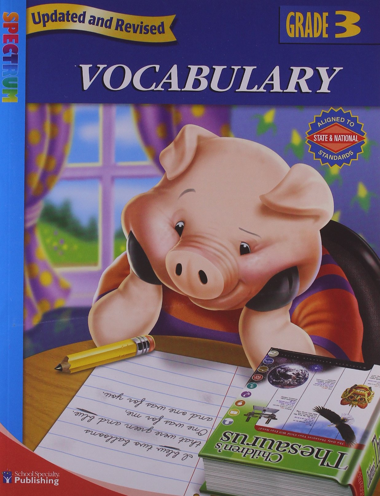 Download Spectrum Vocabulary, Grade 3 pdf epub