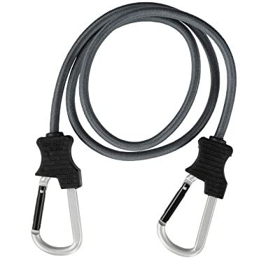 "KEEPER 06158 48"" Super Duty Bungee Cord with Carabiner Hook: Automotive"