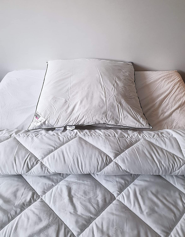 Feder//daunen Kopfkissen 3 zimmer kissen Meisterhome 80x80 cm 40 x 80 und 40x80cm