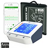 """Blood Pressure Monitor - Premium Technology: Double Pulse Detection - Lightning fast (30-40 sec) and Highly Accurate iProvèn BPM-2244BT with Bluetooth Connectivity (8 3/4""""-16 1/2"""") (Large cuff)"""