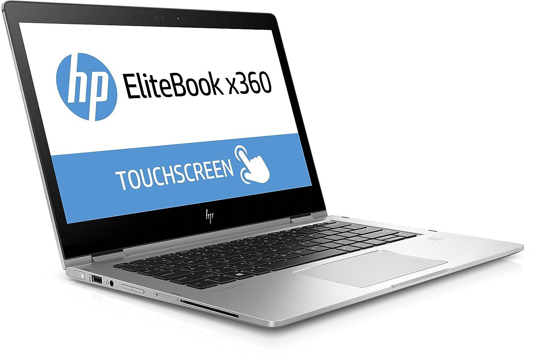 Ordenador portátil HP EliteBook x360 1030 G2 (13,3 Pulgadas FHD Pantalla táctil), Intel Core i7-7600U, 256 GB SSD, 8 GB de RAM, Windows 10 Pro, Color Plata: ...
