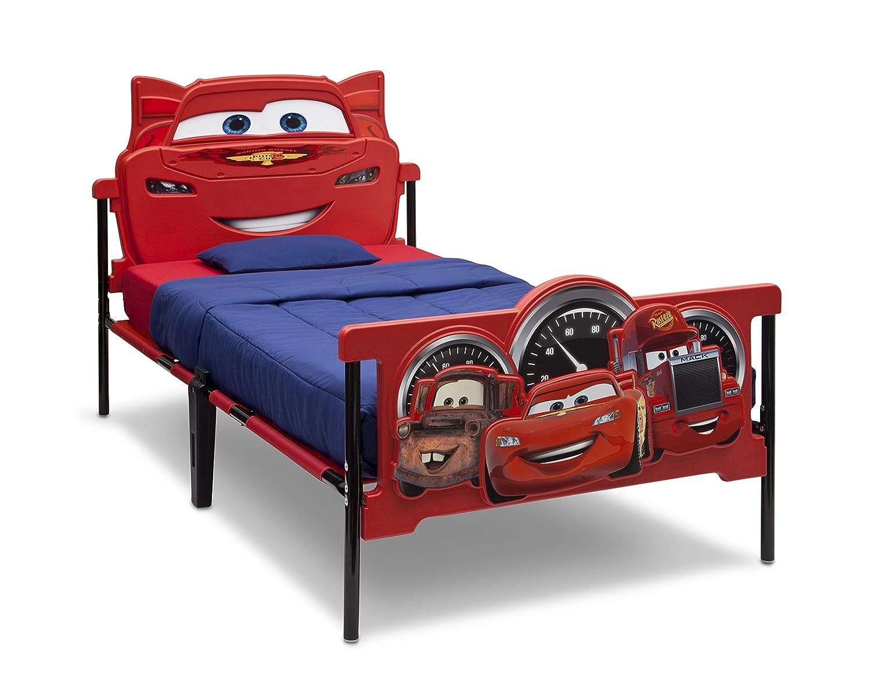 amazoncom delta children plastic 3dfootboard twin bed disneypixar cars baby