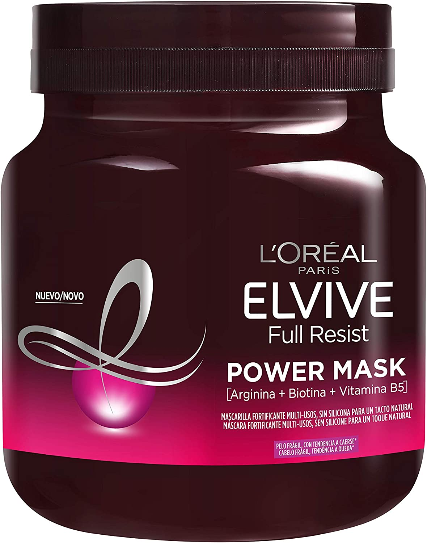 L'Oréal Paris Elvive Mascarilla Fortificante Full Resist Power Mask - 680 ml
