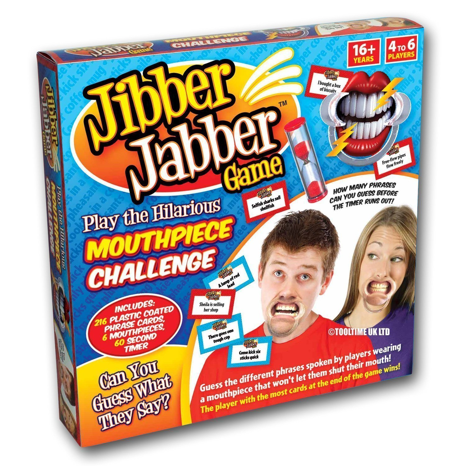 2Xjibber Jabber Party Game  The Hilarious Mouthpiece Game For