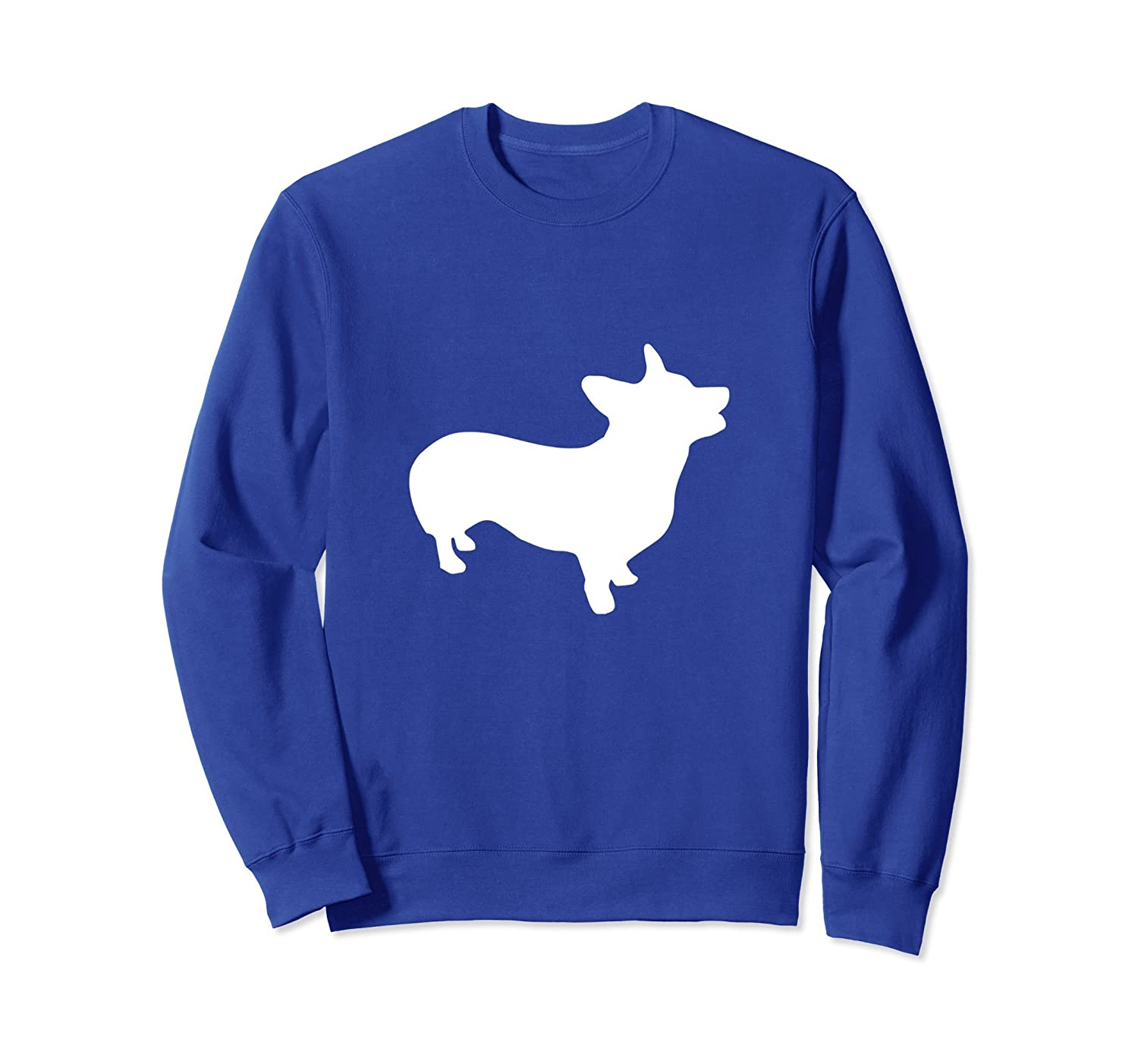 Corgi Silhouette Graphic Sweater Pembroke Welsh Corgi-fa
