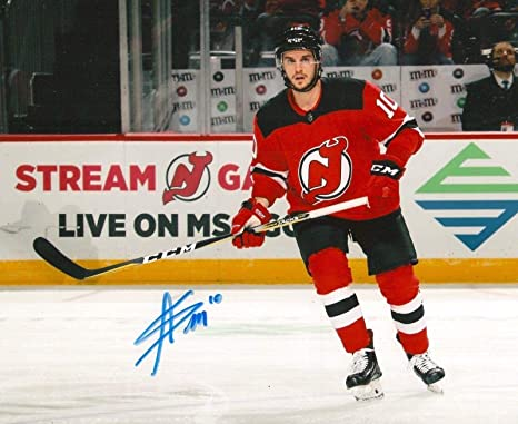 sports shoes 7ffd2 0e77d Autographed Jean-Sebastian Dea Photo - NEW JERSEY DEVILS ...