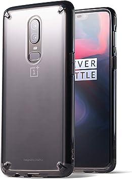 Ringke Funda OnePlus 6, [Fusion] Claro PC TPU Back [Anti-Cling Dot ...