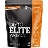 BiPro Elite 100% Whey Isolate Protein Powder, Unflavored, 1 Pound