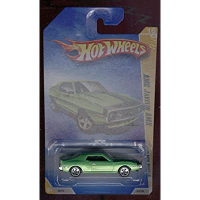 Hot Wheels 2009 NEW Models 16/42 AMC Javelin AMX 1:64 Scale: Toys & Games
