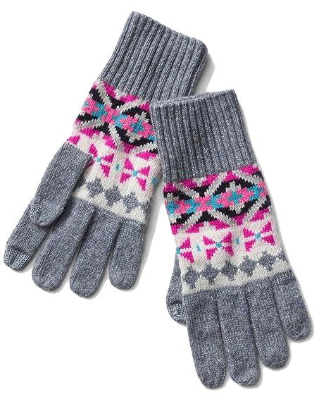Amazon.com: Gap Womens Crazy Fair Isle Merino Wool Blend ...
