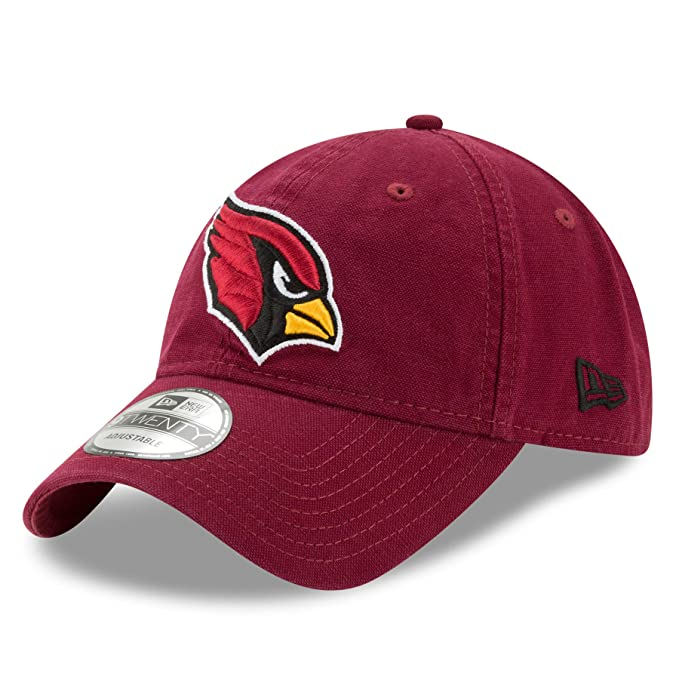 check out 7849e 92ceb Amazon.com   New Era NFL Arizona Cardinals Adult Men Core Classic Primary  9Twenty Adjustable Cap, One Size, Brick   Clothing