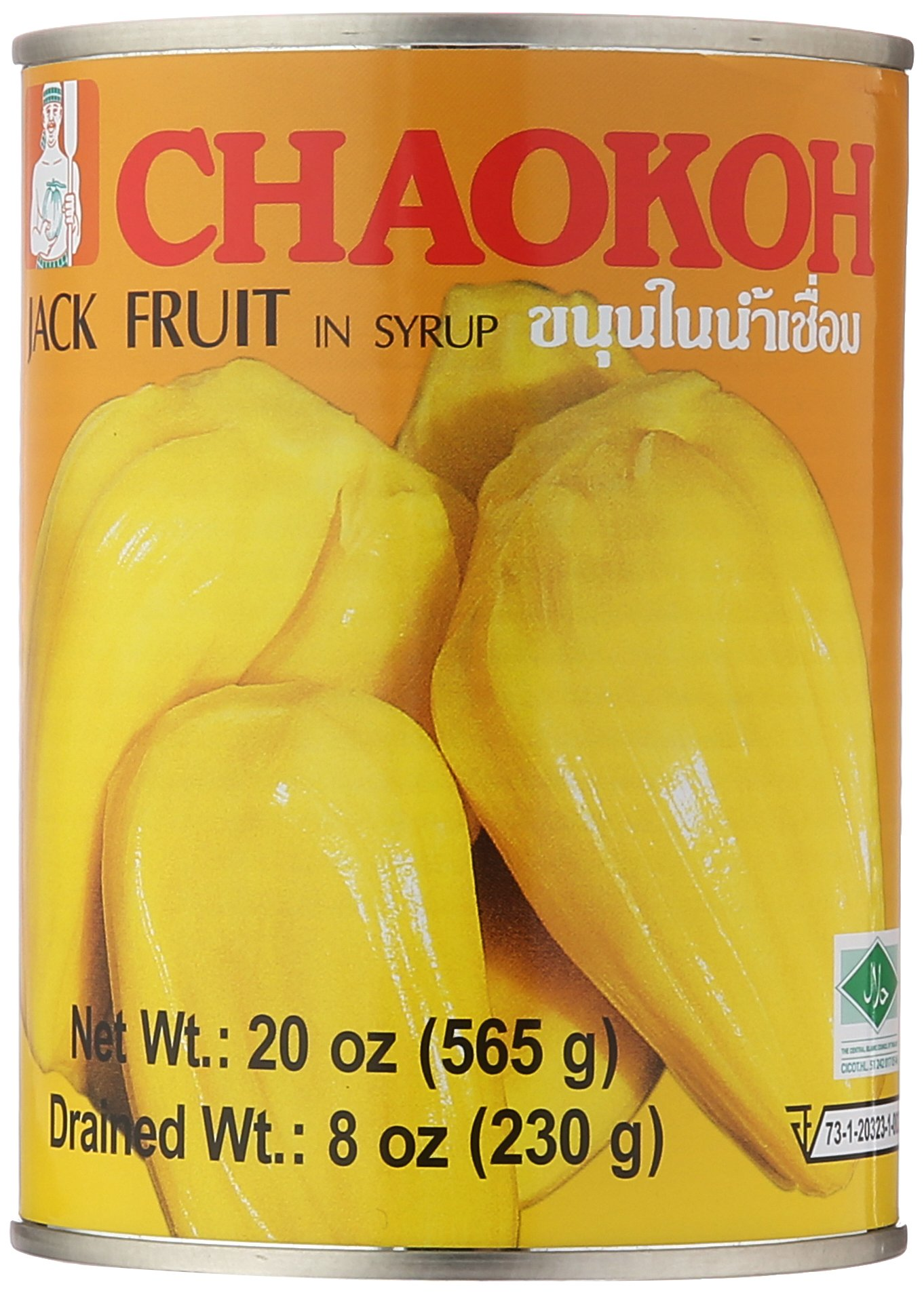 Chaokoh Jackfruit In Syrup, 20 Ounce (pack Of 24) by Chaokoh
