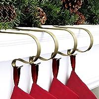 Shaper Corset Stocking Holders for Mantle Set of 6 Christmas Stocking Stuffers Hangers for Mantel Decor Hooks for…
