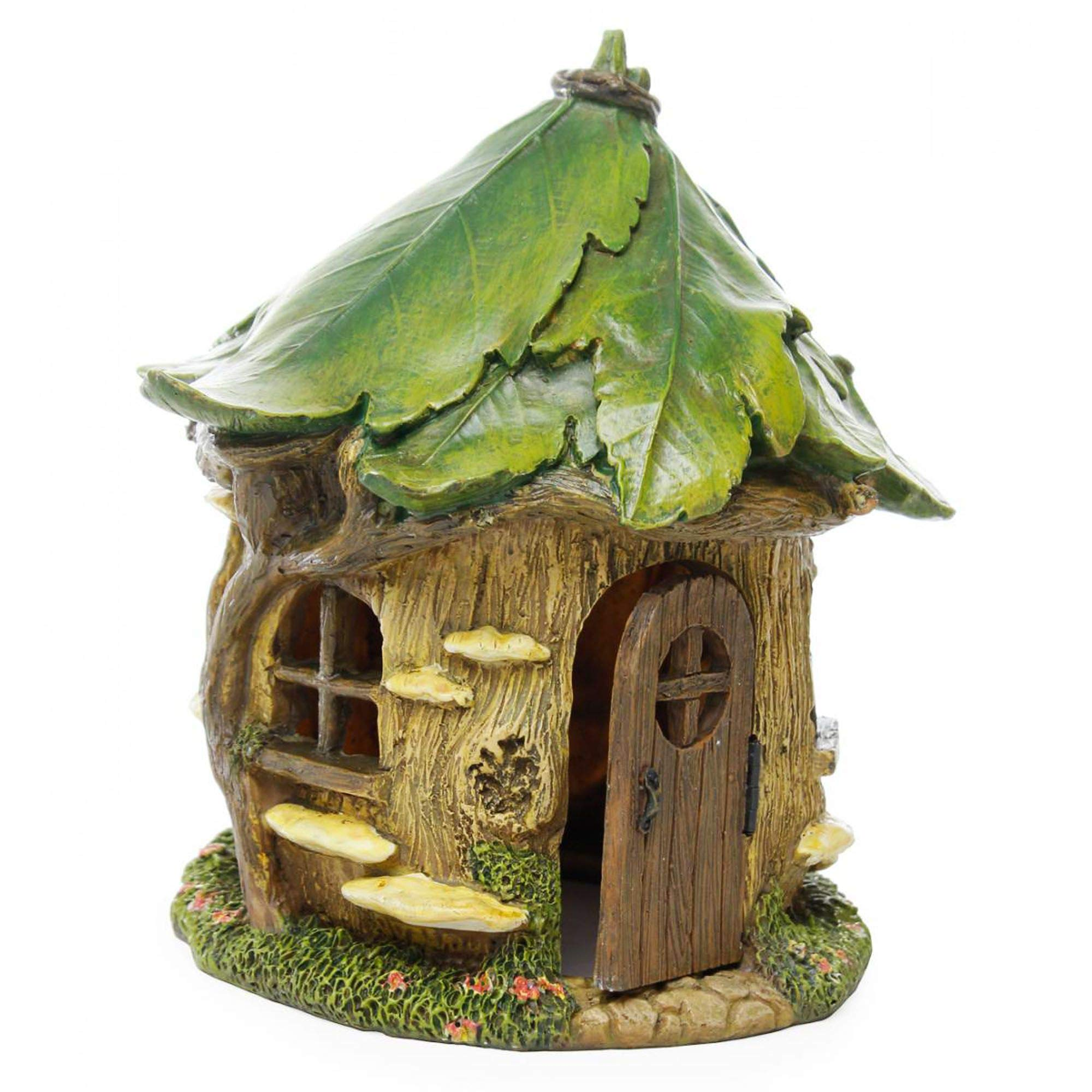 Miniature Forest House Fairy Gnome Cottage - Yard Garden Decor