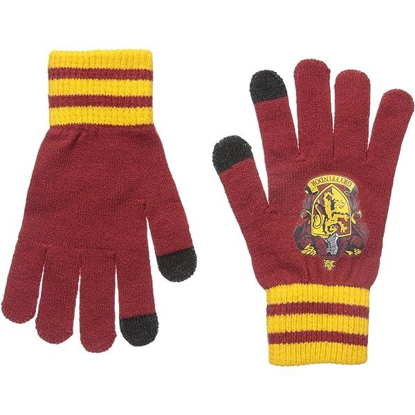 Harry Potter Gryffindor Scarf /& Gloves Set