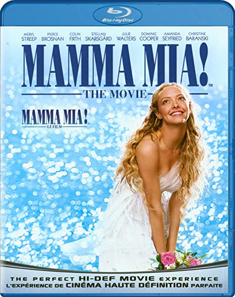 Mamma Mia The Movie Blu Ray Meryl Streep Pierce Brosnan Colin Firth Amanda Seyfried Stellan Skarsgard Christine Baranski Julie Walters Dominic Cooper Phyllida Lloyd Nancy Baldwin Heather Emmanuel Movies Tv