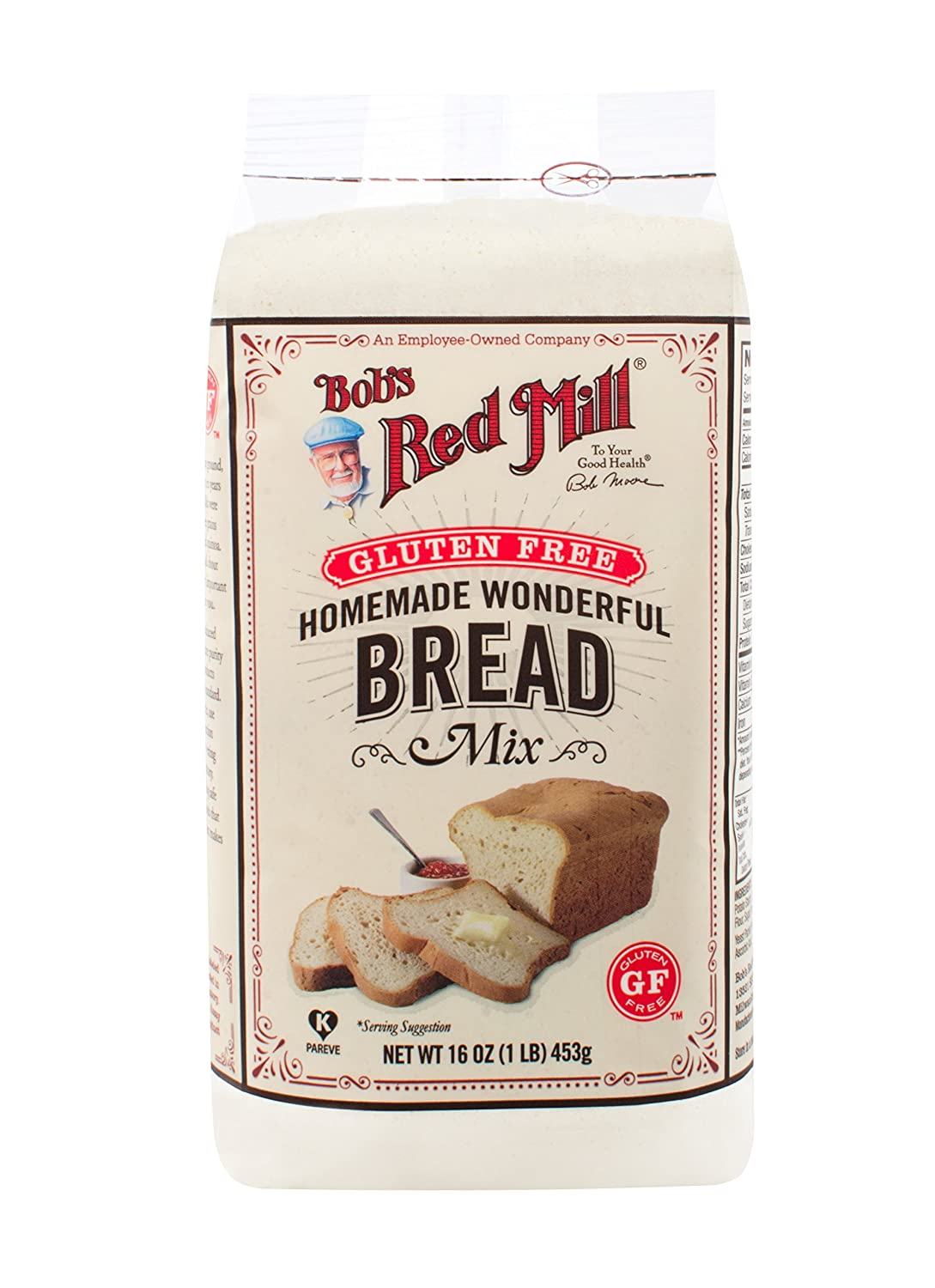 Bob S Red Mill Gluten Free Wheat And Dairy Free Bread Mix 16 Oz Grocery Gourmet Food