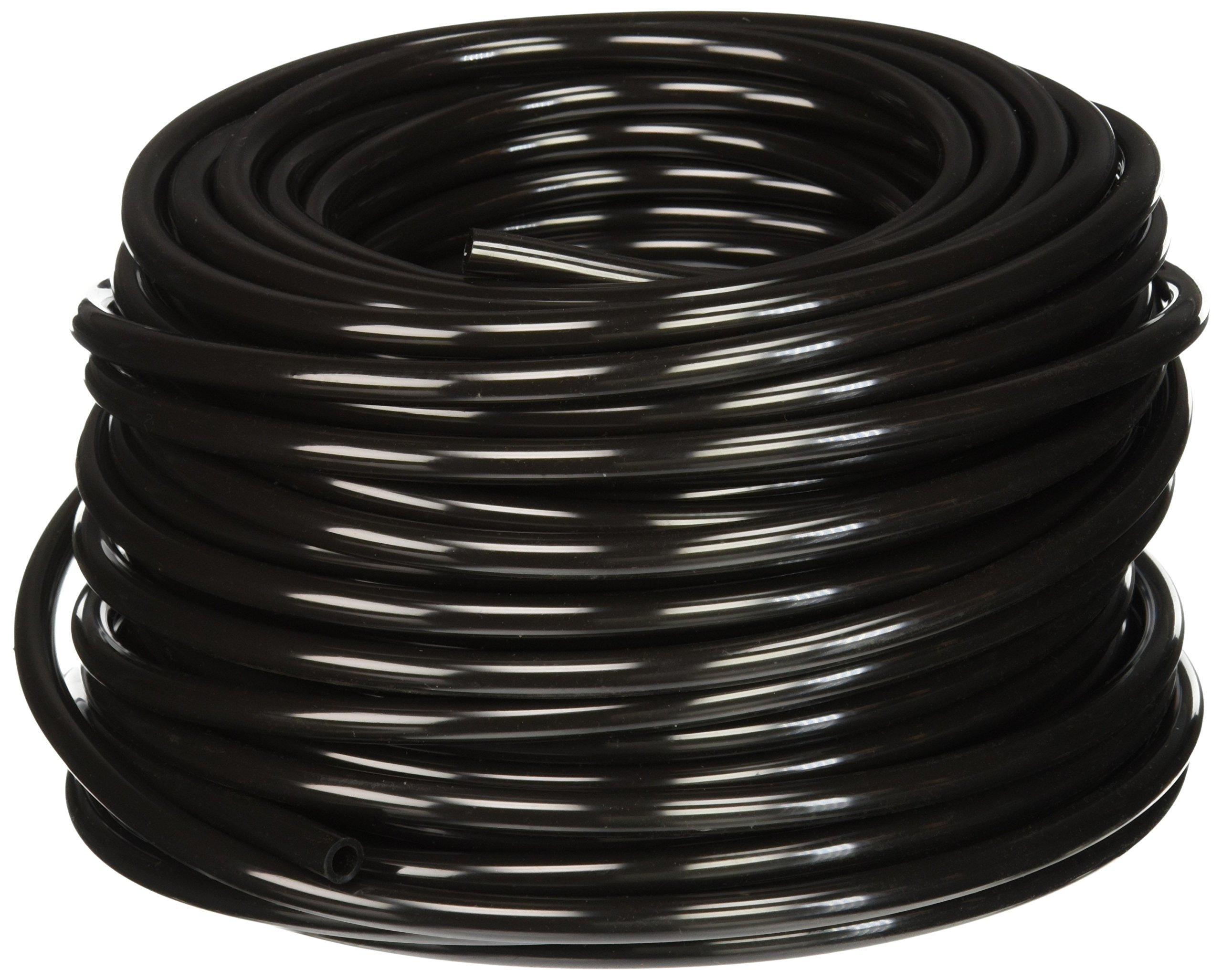 Hydrofarm HGTB25 1/4-Inch Outside Diameter Black 100' Tubing, 45 PSI Operating Pressure at 70 Degrees by Hydrofarm