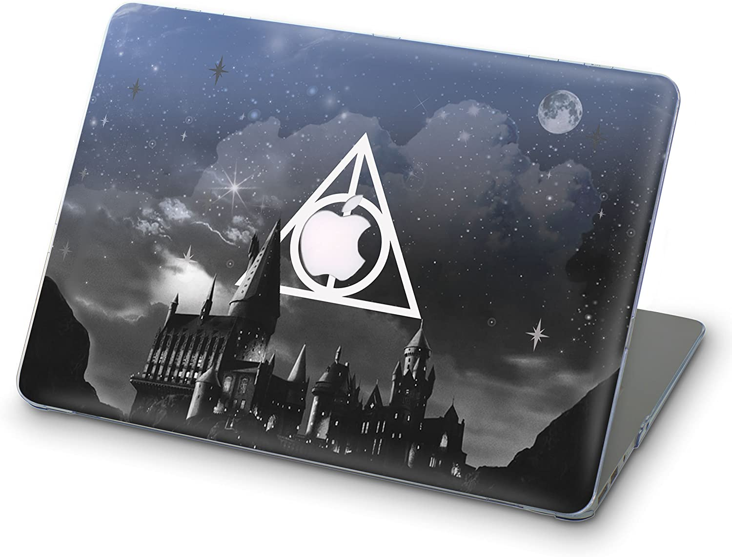 "696designers 3D Varnished Ornamental Monogrammed Full Cover Hard Shell Case for Apple Macbook Pro Retina 15.4"" (Harry Potter) A1398 (2013-2015), Retina Display, without CD-ROM, NOT fit Pro 15 2016"