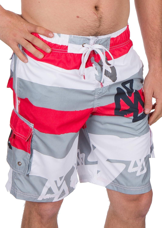 7299355ca7 Sakkas Xavier Stretch Waistband No Wet Swim Trunk/ Boardshorts durable  modeling