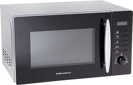 Ultratec MWG200 - Microondas con grill, 700/1000 W, 8 programas ...